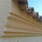 Acabado piedra marfil(fachada) y rosa valencia(cornisas)2