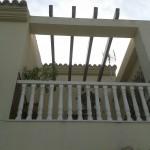 Raspado marfil(fachada) verde oliva(cornisas)1